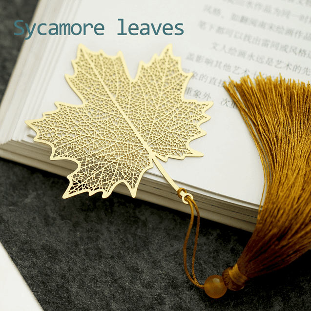 Literature Art Leaf Bookmarks
