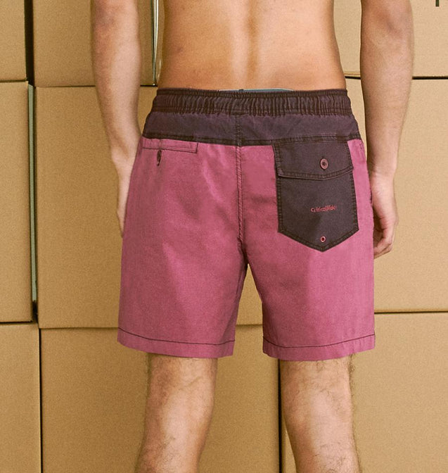 PLAIN JANE BOARDSHORT - SANGRIA