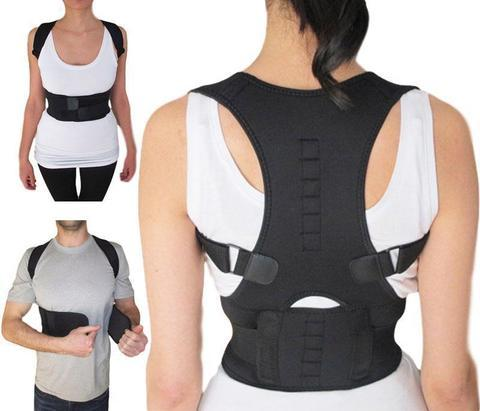 #1 Magnetic Posture Corrector Back Brace Therapy