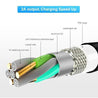 Magnetic Absorption Charging Cable