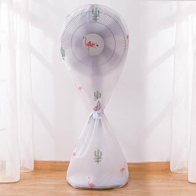 Round Electric Fan Dust Cover