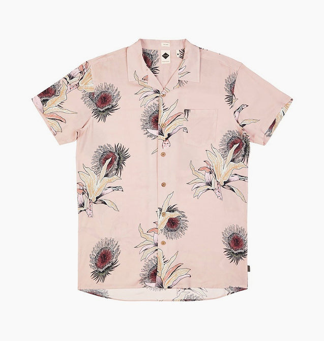 VOYAGE SHIRT - DUSTY CORAL