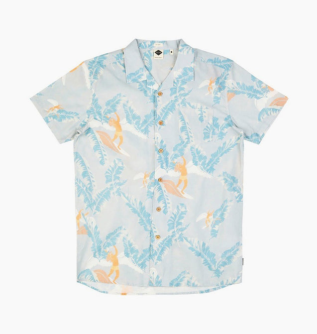 ZEPPLIN SHIRT - MIST BLUE