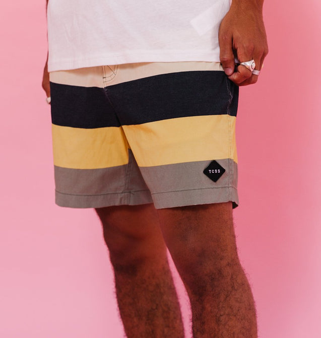 SUNSET III BOARDSHORT - FATIGUE