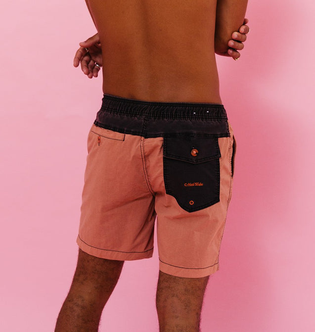PLAIN JANE BOARDSHORT - MATADOR RED