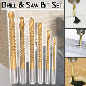Drill & Saw Bit Set