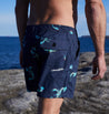 YABBIE CREEK ELASTIC WAIST TRUNK - NAVY