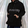 Streetwear Embroidery Cotton blend Men's Sweatshirt