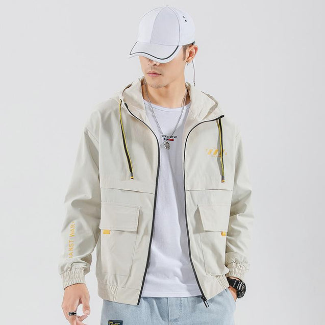 Korean version of the trend of wild mens jacket