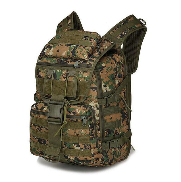 Outdoor camouflage multi-function tactical backpack