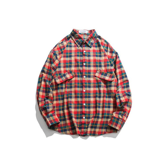 Mens Casual College Wind Shirt