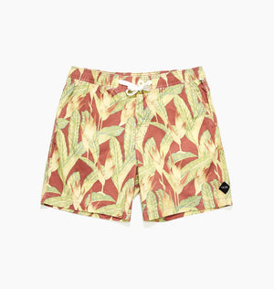 CAMEO E/W BOARDSHORT - RED CENTRE