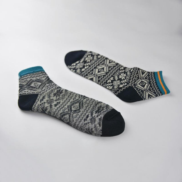 Men's cotton line vintage socks 3 pairs