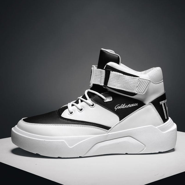 Men's sports and leisure hip hop high-top shoes