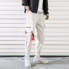 Street Contrast Buckled Pocket Tooling Pants