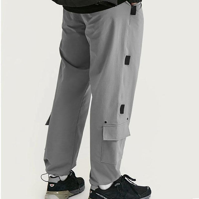 Mens Fashion Splicing Looose Casual Pants