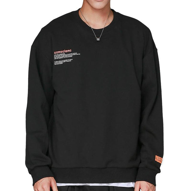 Men's Cotton Casual Sports Sweater