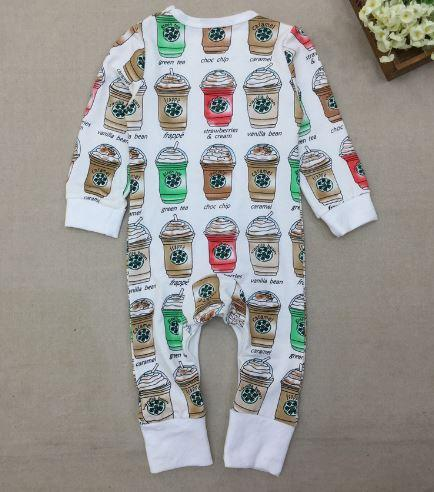 The 'Frappuccino' Romper