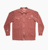 HINDSIGHT OVERSHIRT - RED EARTH