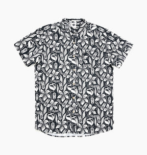JIMS BEER GARDEN SS SHIRT - WHITE