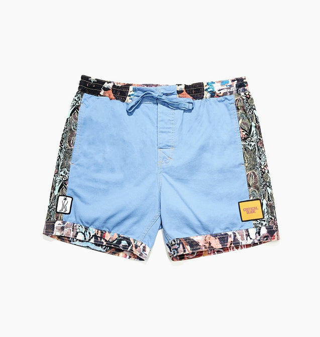 MIXED TAPES BOARDSHORT - BLUE YONDER