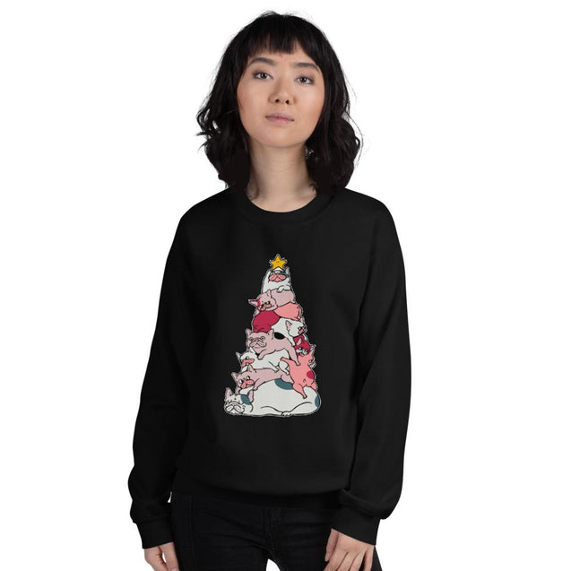 frenchie tree - Unisex Sweatshirt