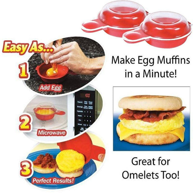 Magic Egg-Muffin Maker
