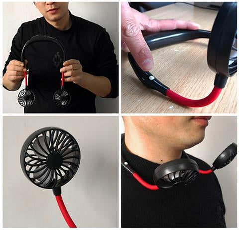 PORTABLE HANGING COOL NECK