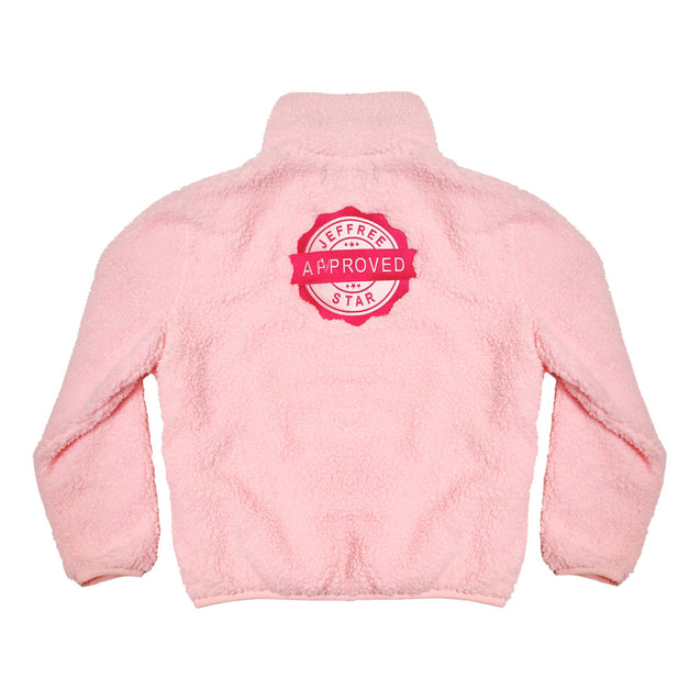 Baby Pink Jeffree Star Approved Fuzzy Jacket