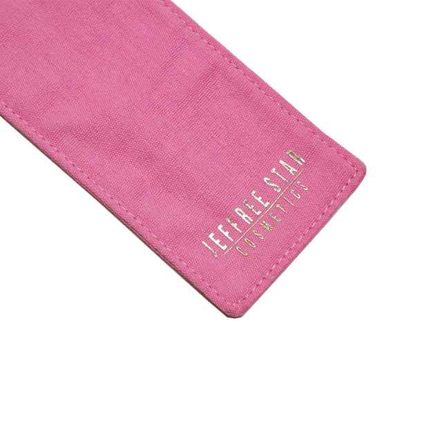 Pink Straw Travel Sleeve