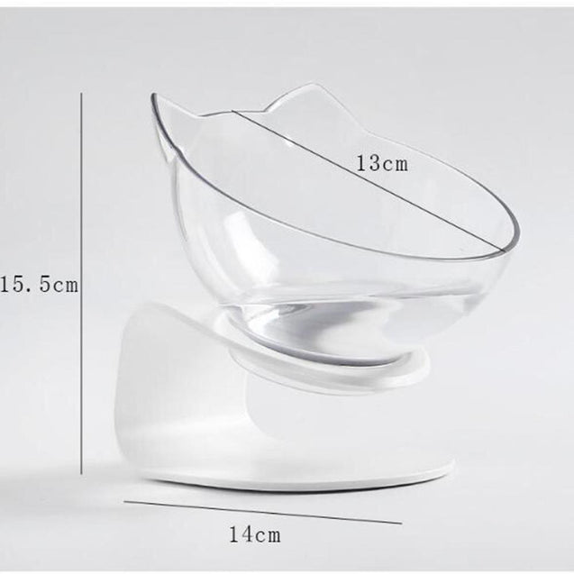 Designer Elevated Frenchie Bowl