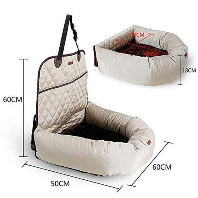 The OPTIMUM Multifunctional Pet Car Seat Carrier