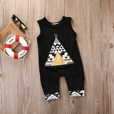 Sleeveless Tent and Fox Tank Jumpsuit