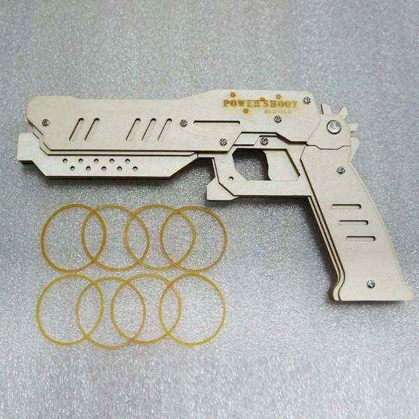 Rubber Band Pistol