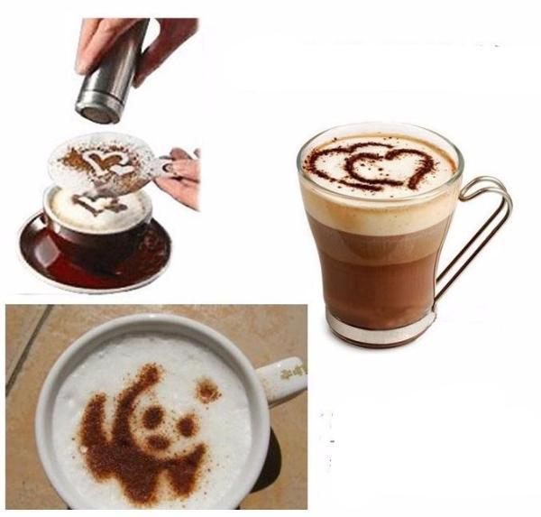 Pro Coffee Creations - Coffee Stencils
