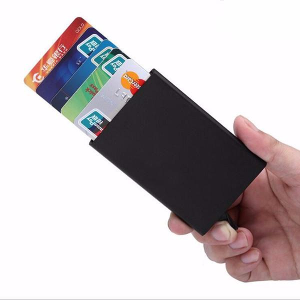 Slim Aluminum Popup Card Case