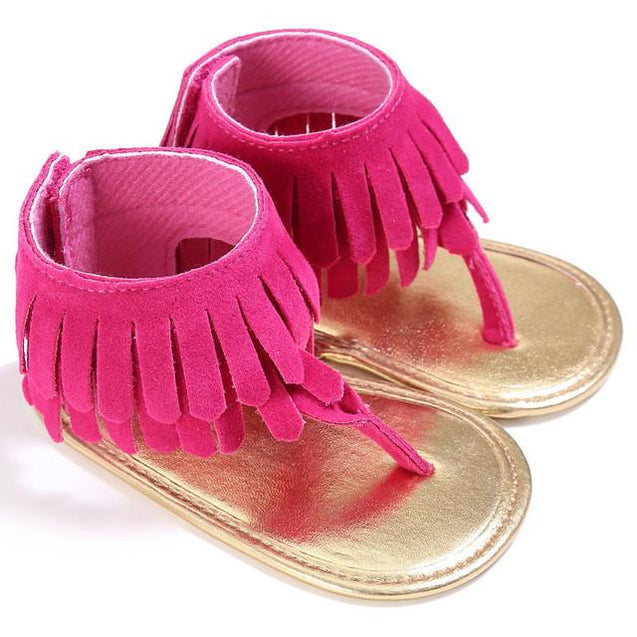 Fringe Sandal - Baby Girl First Walker