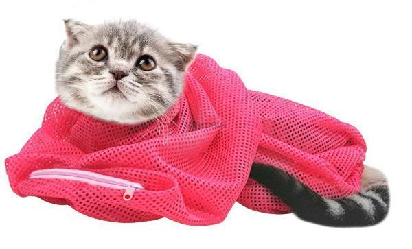 Cat Grooming Mesh Bag