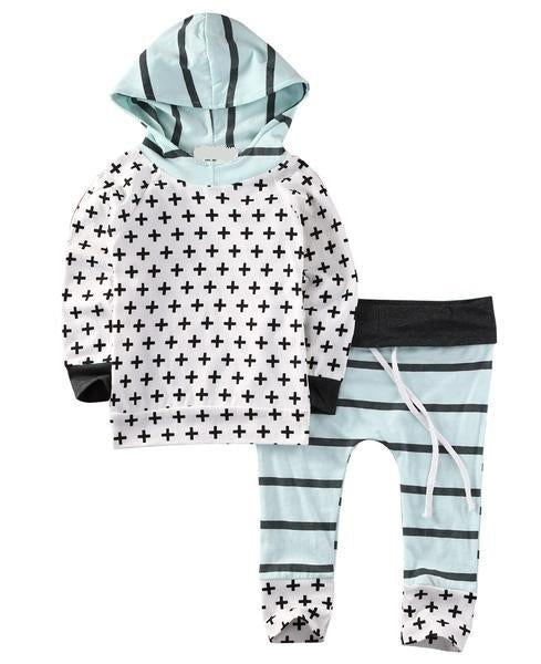 The 'Fresh Plus' 2-pc Hoody and Harem Pant Set