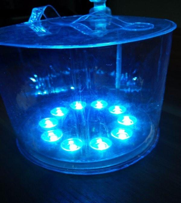 Inflatable Solar LED Lamp