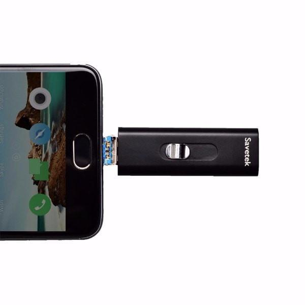 8GB Stealth Micro USB Recorder