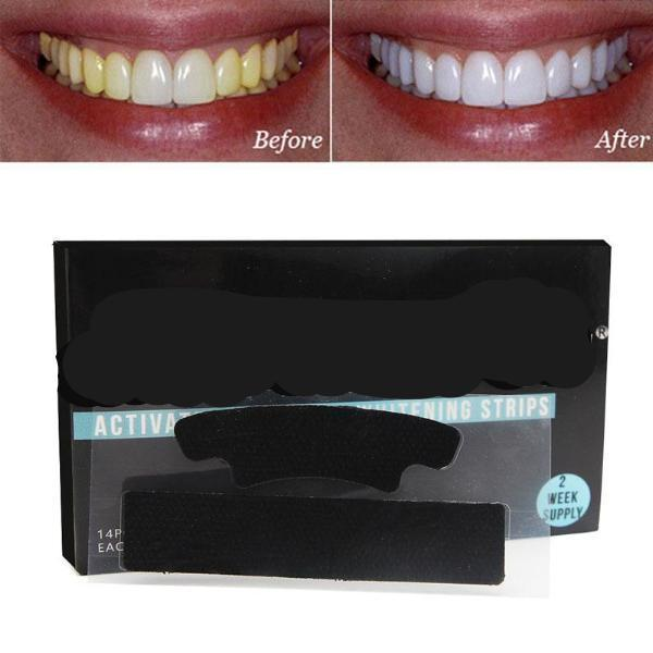 Charcoal Whitening Strips