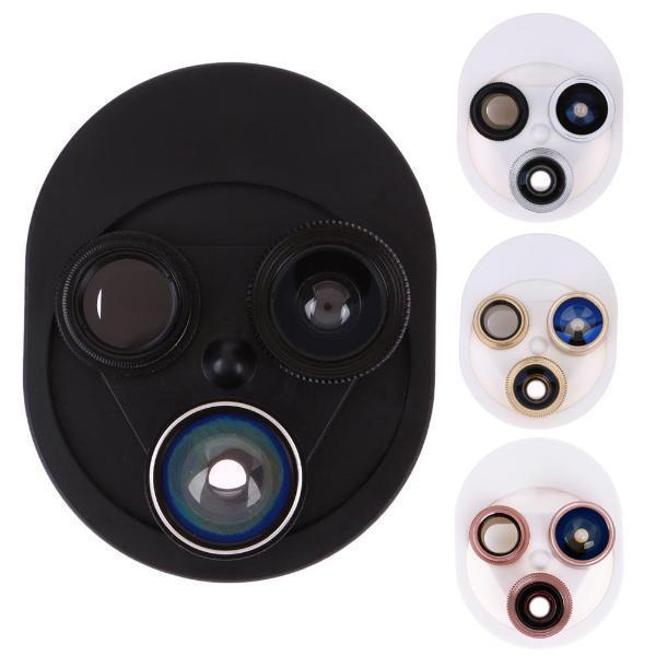 4-in-1 Clip-on Mobile Phone Camera Lens
