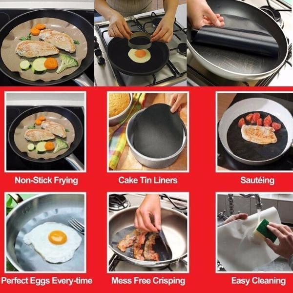 Rounded Cooking Mat