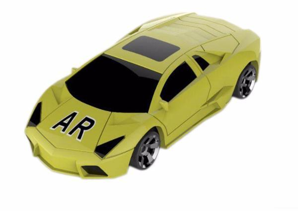 AR Racing Car For Mobile Devices