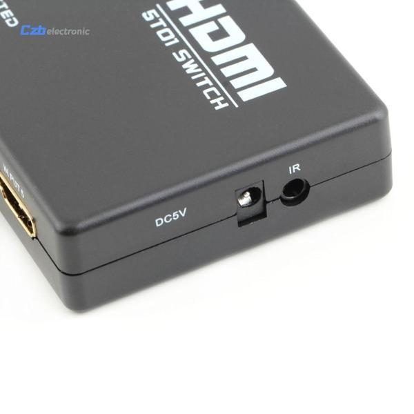 5-Port HDMI Switcher