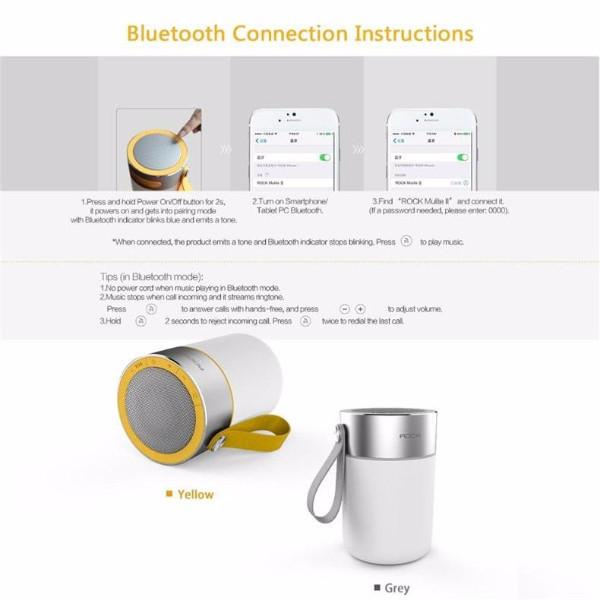 Waterproof Speaker with LED Light