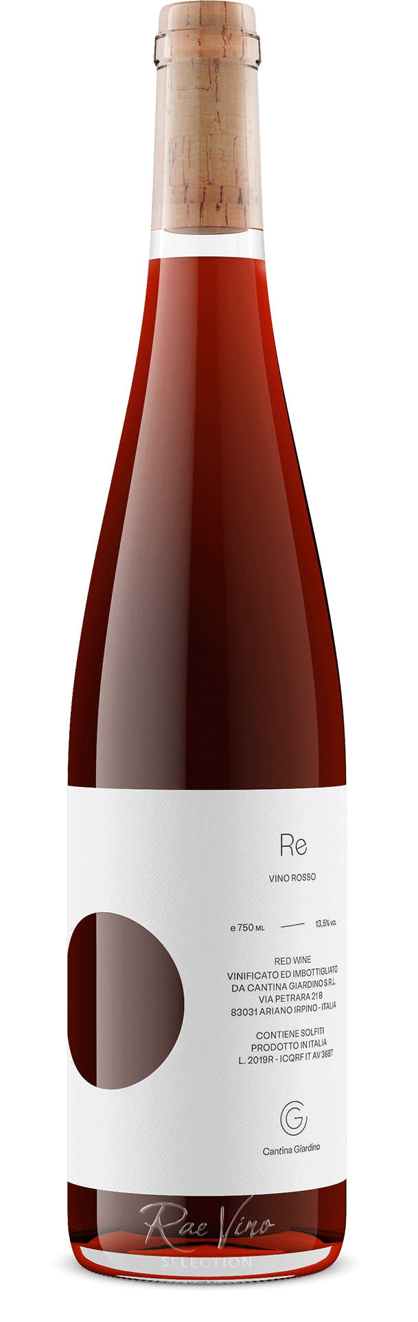Cantina Giardino : 'Re' Rosso : Red Blend | 2019