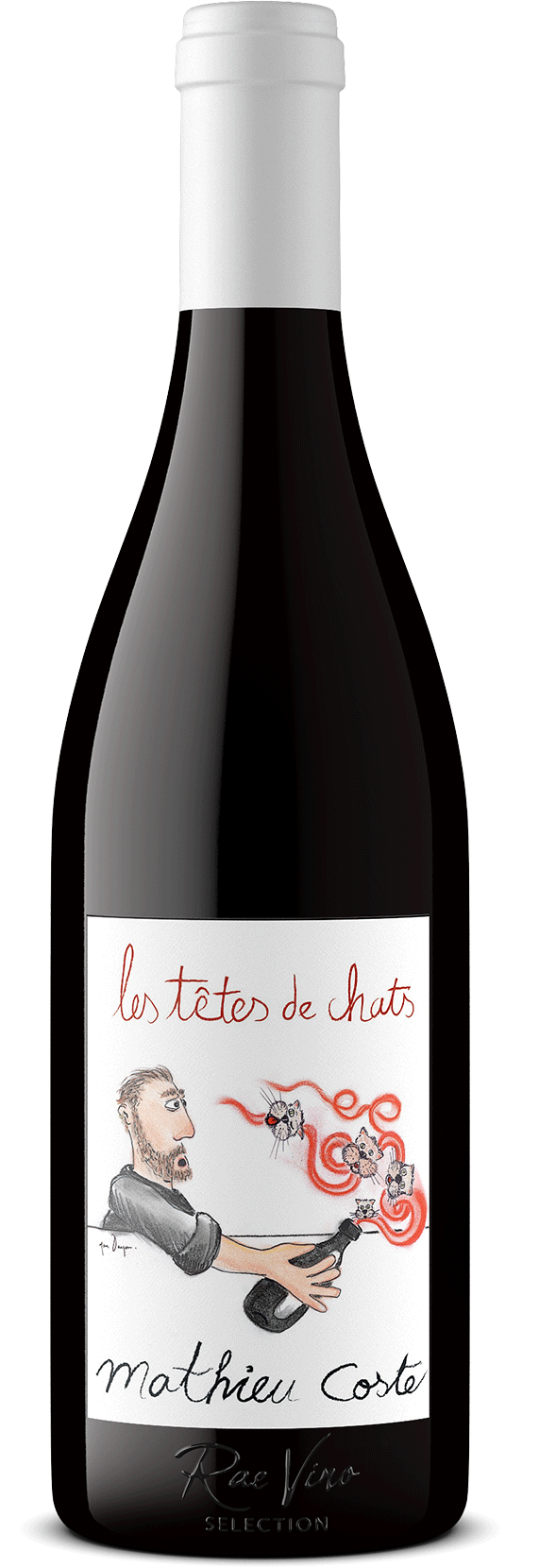 Domaine Mathieu Coste : 'Les Tetes de Chats' : Red Blend | 2014