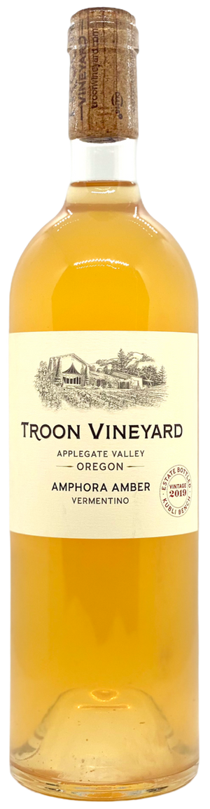 Troon Vineyard : Amphora Amber : Vermentino | 2019